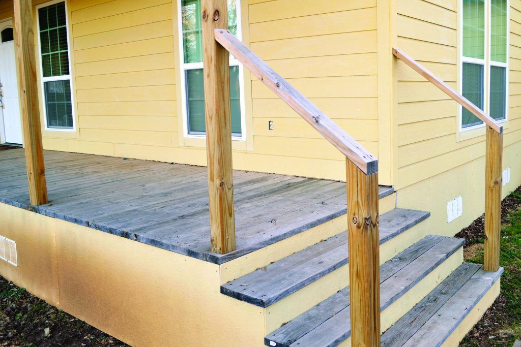 Pin On Stair Railing Ideas, Wooden Handrails For Outdoor Steps Uk