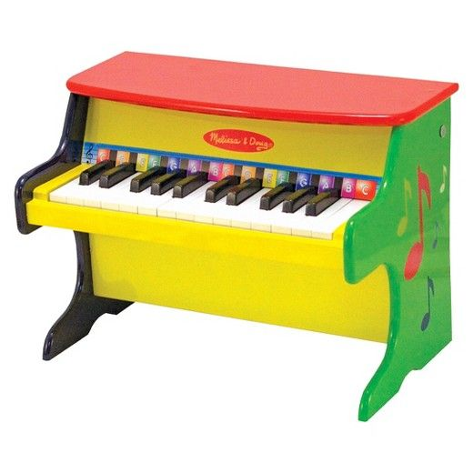 Melissa Doug Learn To Play Piano With 25 Keys And Color
