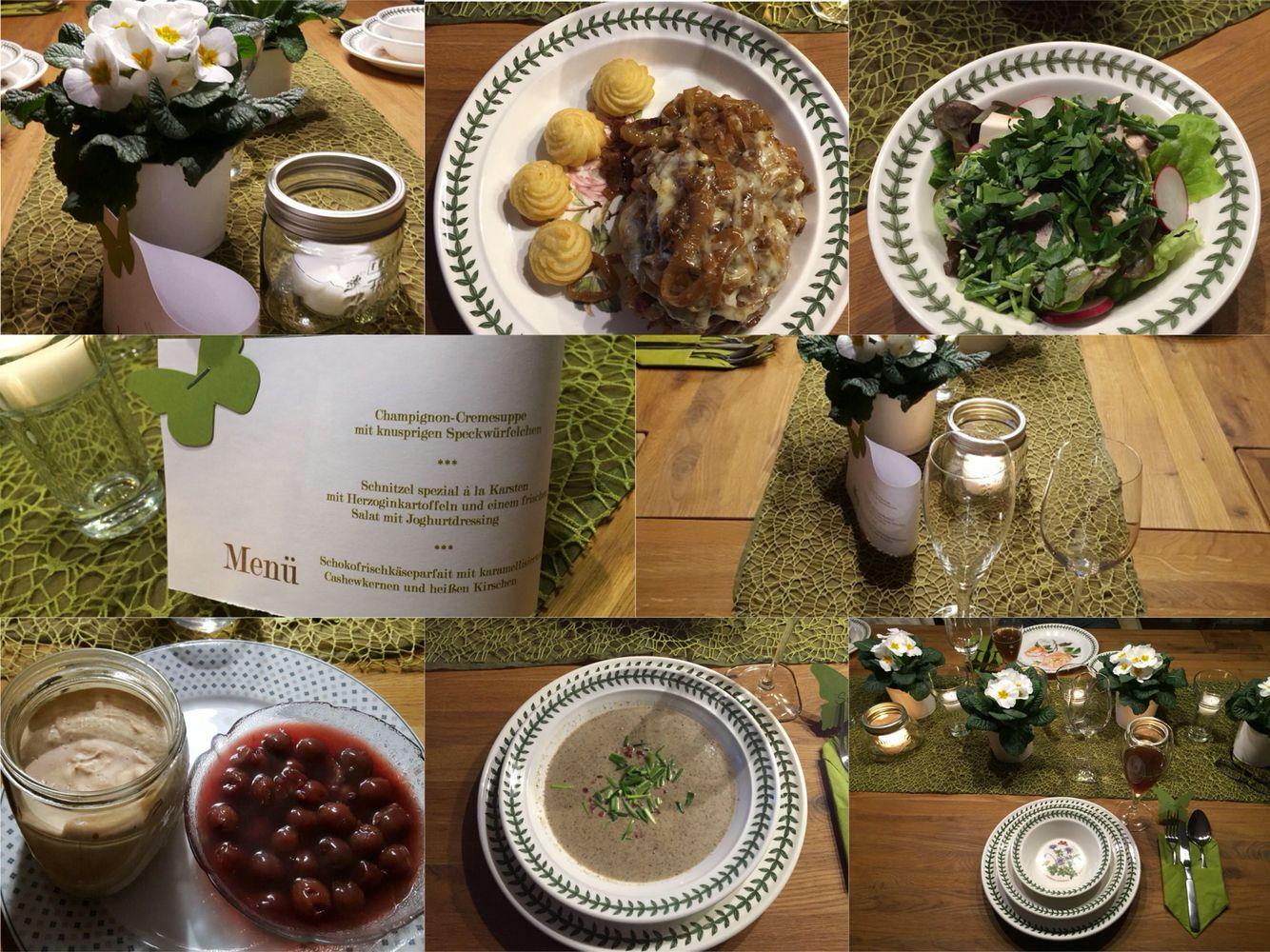 Perfektes Dinner am 6.2.2016