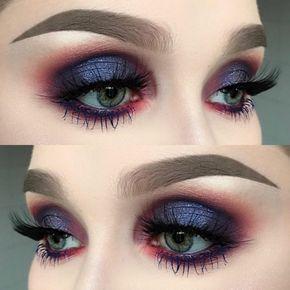 como pintarse los ojos mujer con ojos azules - Pintarse Los Ojos
