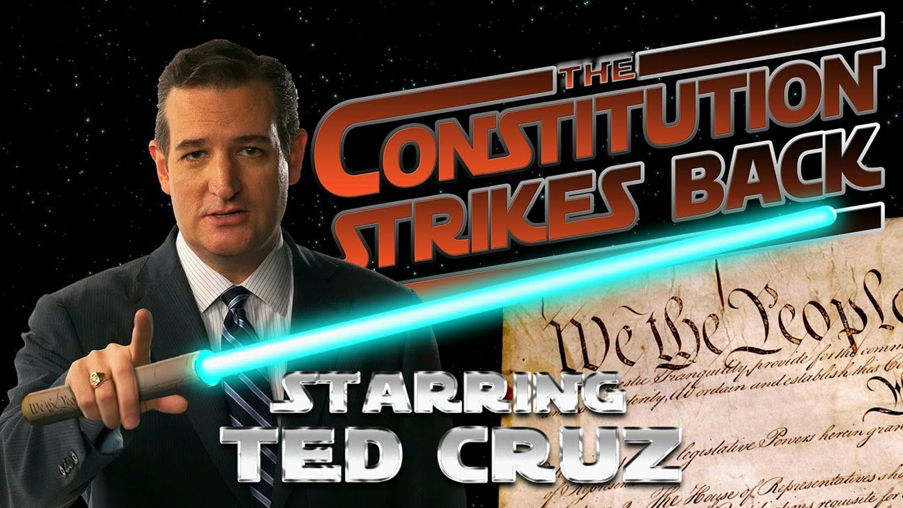 Ted Cruz Quotes The Constitution Strikes Back  Starring Ted Cruzthis Is Great