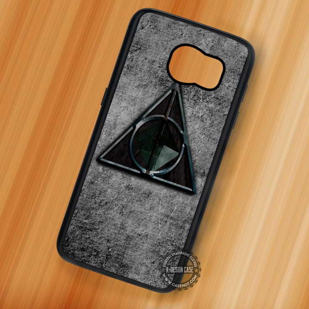 Deathly Hallows Harry Potter Symbol - Samsung Galaxy S7 S6 S5 Note 7