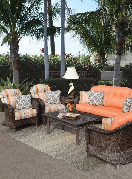 Palm Springs Rattan Garden Classics, Garden Classics Patio Furniture
