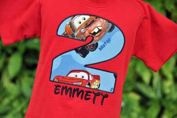 party outfit PERSONALIZE CUSTOM Race Car T-shirt cars, shirt