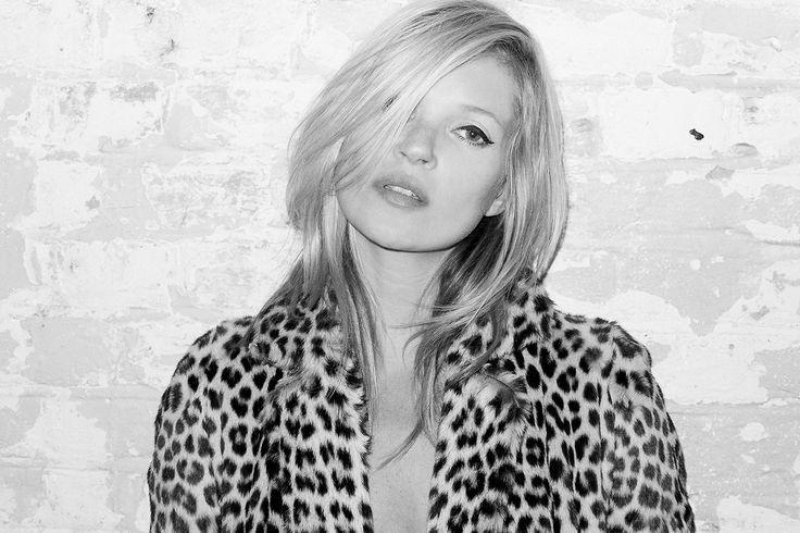 Kate Moss Returns to Terry Richardson's Studio