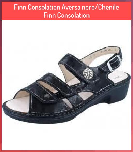 Finn Consolation Aversa Nero Chenile Finn Consolation Aversa Chenile Comfort Consolation Finn Nerochenile In 2020 Fisherman Sandal Women Finn Comfort