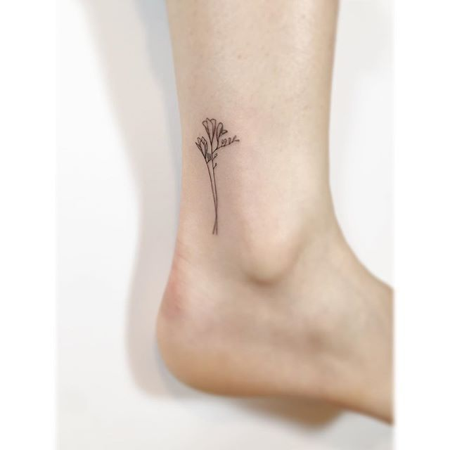 Image Result For Freesia Tattoo Cute Tattoos For Women Tattoos Tiny Tattoos