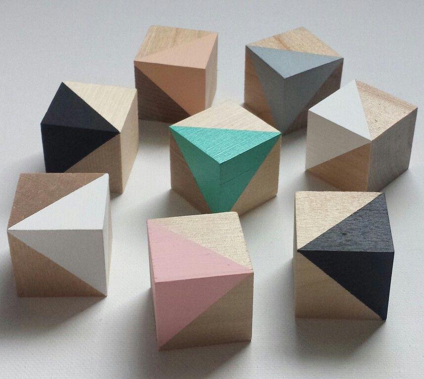 scandi nursery decor wood blocks pastels wooden toys