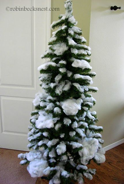 Branch out with an unconventional, space-saving wall tree. 28 best how to  make artificial snow for tree Christmas ... - Branch Out With An Unconventional, Space-saving Wall Tree. Dıy