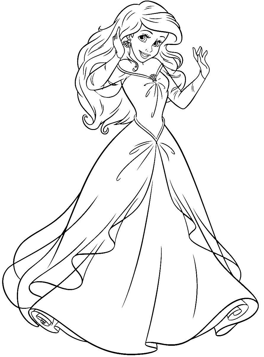 Raskraska Ariel I Flaunder Princessa Raskraski Raskraski Rozhdestvenskie Raskraski