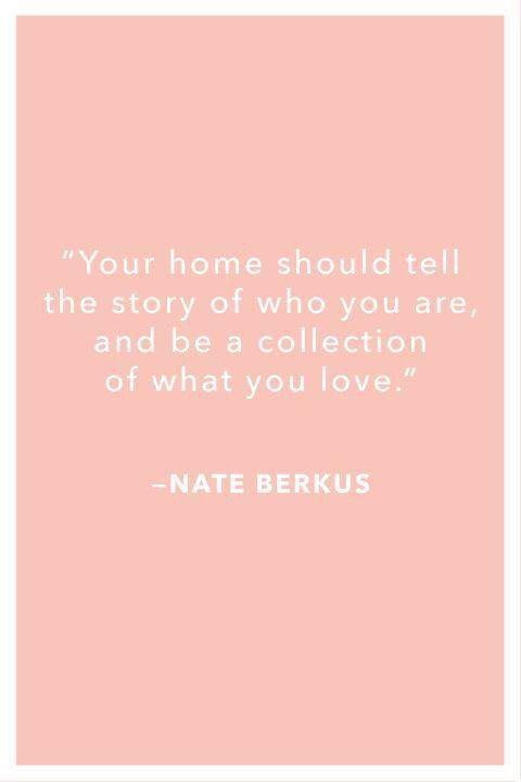 bravahome #nateberkus | Home Quotes | Pinterest | Minimalism ...