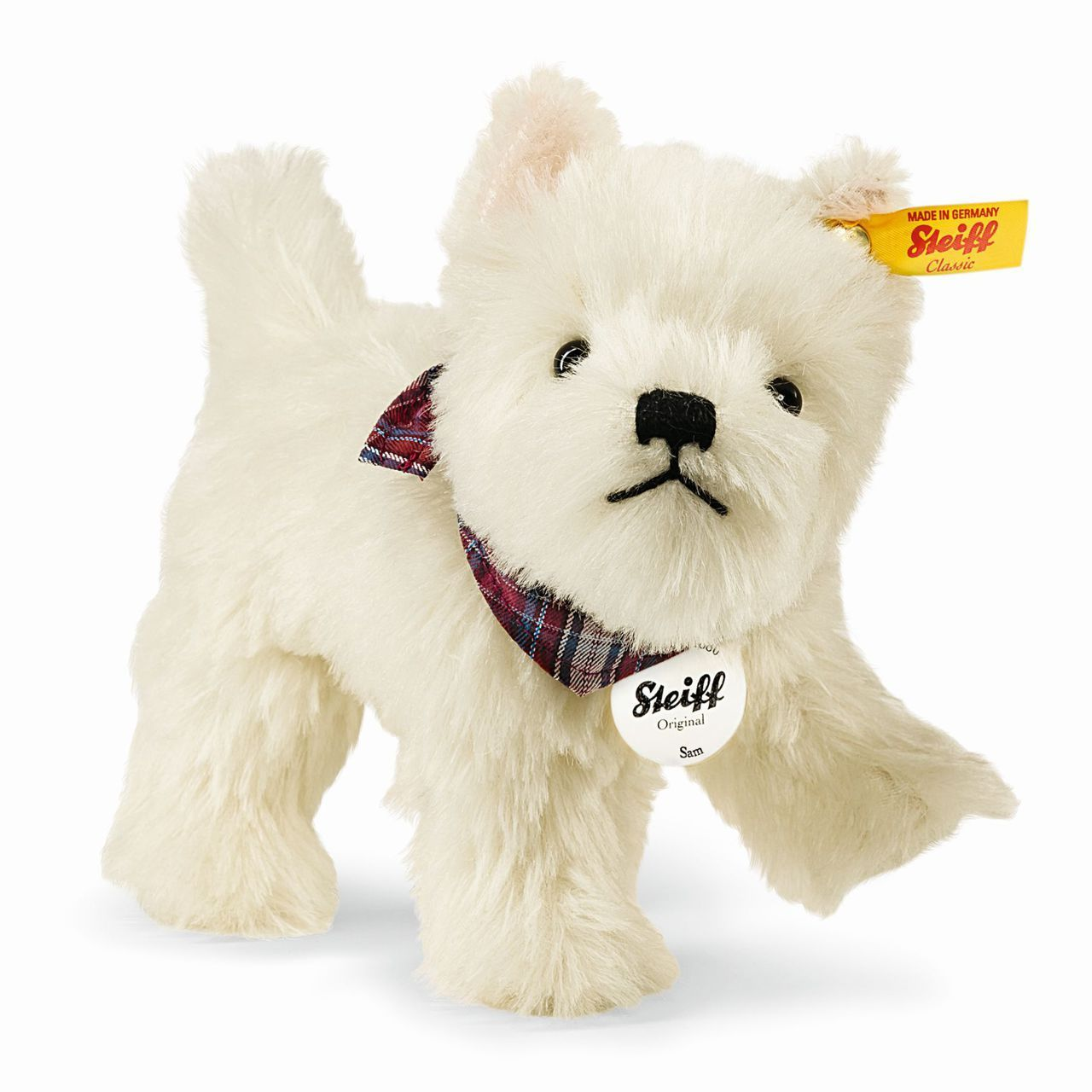 Stuffed Animals West Highland Terrier 'Sam'Steiff USA