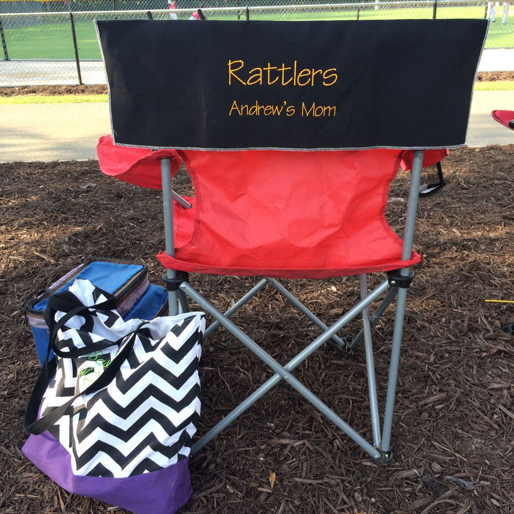 Img_3141 team mom baseball mom chair sign