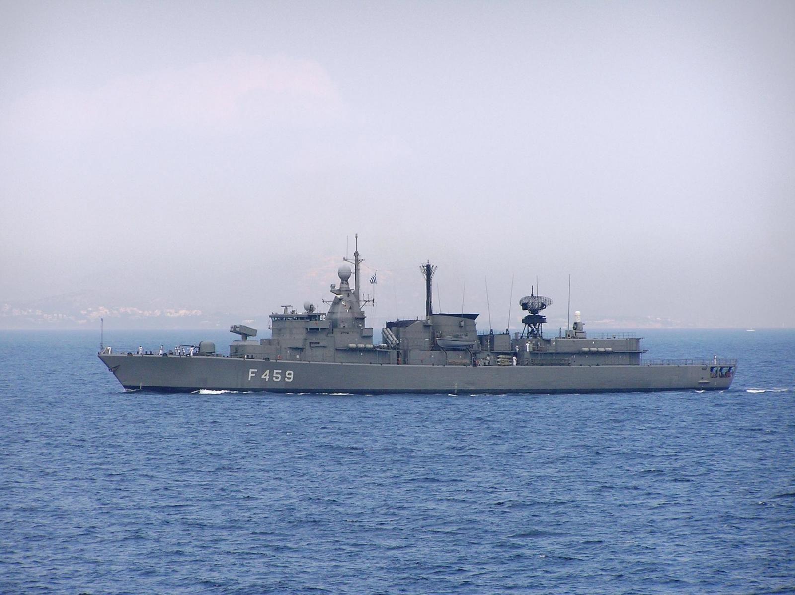 HS Adrias (F-459) - Elli class Frigate (Greece) | Late ...