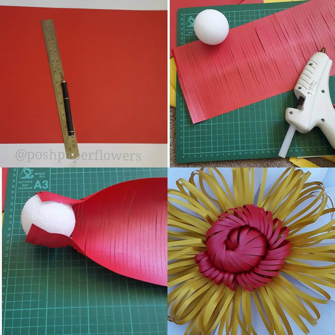132 likes 27 comments posh paper designs poshpaperdesigns on here is a tutorial on how i make one of my paper flower centers poshpaperdesigns mightylinksfo