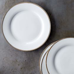 Open Kitchen By Williams Sonoma Bistro Dinner Plates Gold