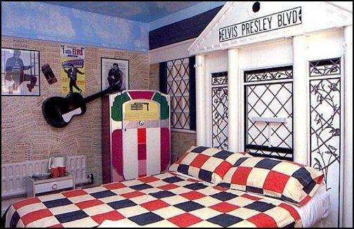 Elvis Presley Theme Bedroom 50s Bedroom Bedroom Themes Decor