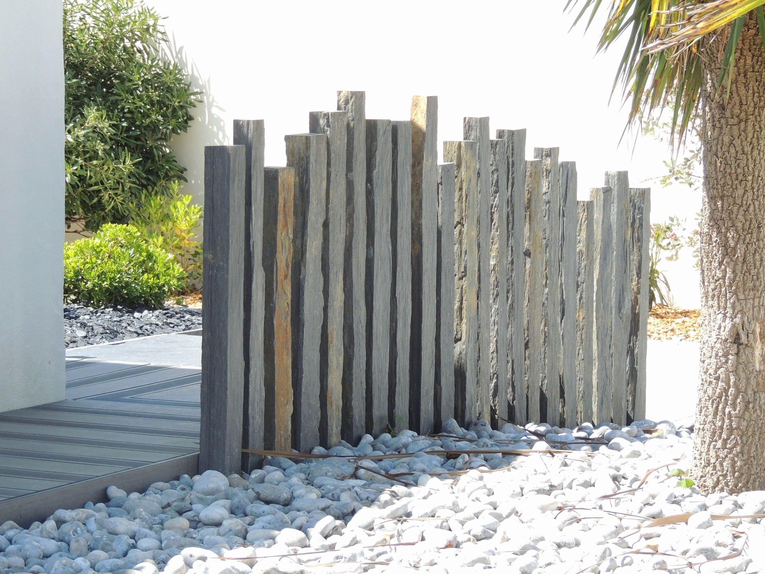 Piquet En Ardoise Bois Jardin piquet ardoise jardin génial palissades de jardin en bois