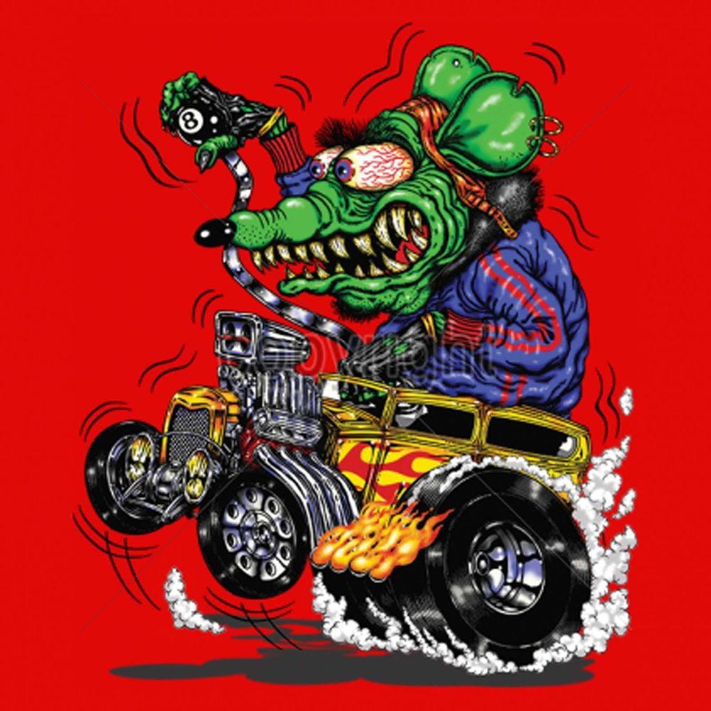 f85cd4fcd Rat Rod Funny Cartoon T Shirt Ratty Hot Rod Drag Racing Small to 6XL and  Tall #PitStopShirtShop #GraphicTee