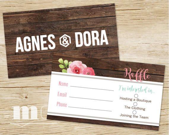 Agnes and dora small business raffle ticket raffle business card agnes and dora small business raffle ticket agnes dora business card raffle giveaway prizes colourmoves
