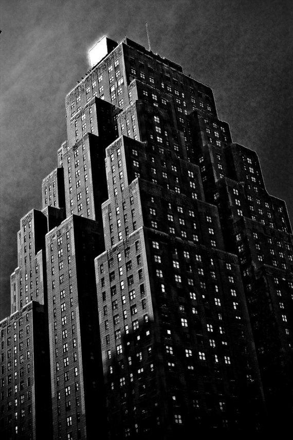 Carbon print no 19 nyc gotham film noir style 5x7 by smacshop 15 00