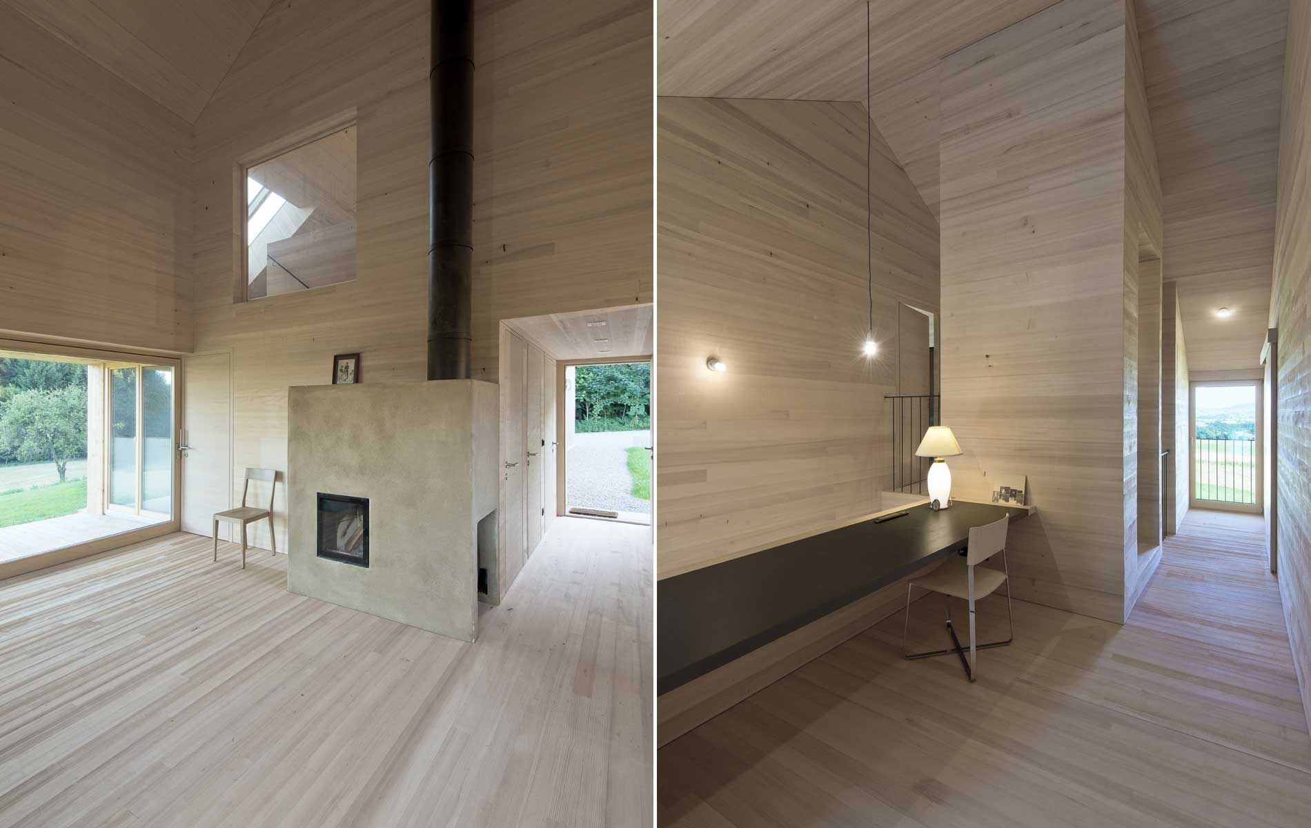 Holzbau innen  Holzbau Lehmofen | öfen | Pinterest | Holzbau, Wochenendhaus und ...
