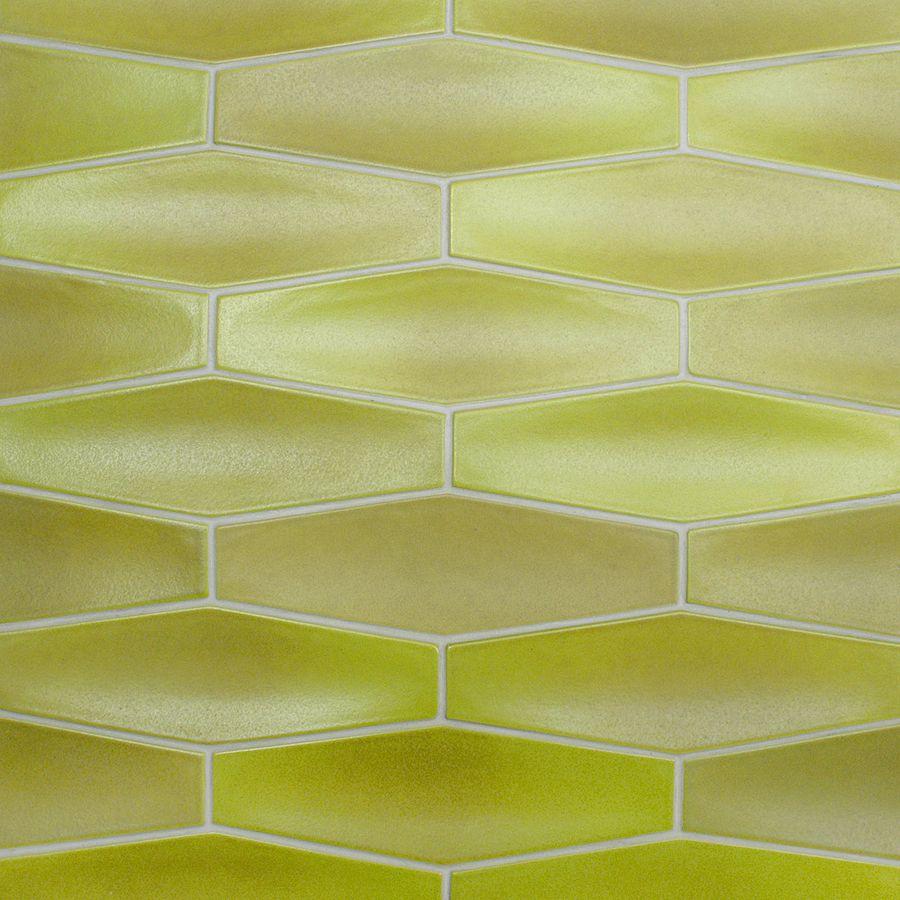 Heath Ceramics diamond tile in citrus
