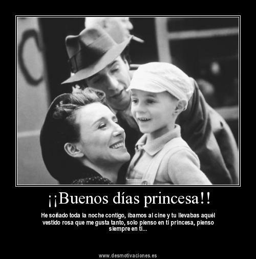 Buenos Días Princesa La Vida Es Bella Peliculas Cine Peliculas Divertidas