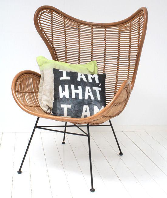 Egg chair van rotan woonnieuws m bel buero en sch ne hintern - Ausgefallene wohnzimmermobel ...