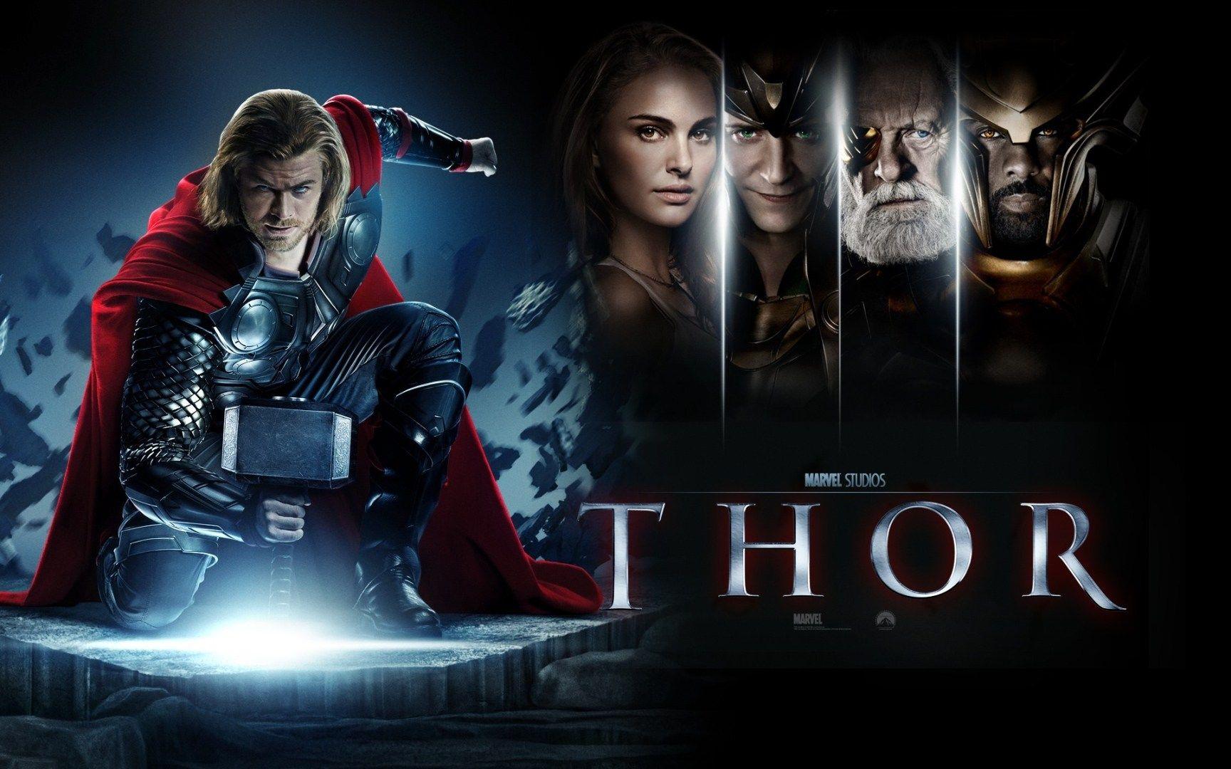 Thor Marvel Movie Wallpaper Chris Hemsworth Anthony Hopkins Hemsworth