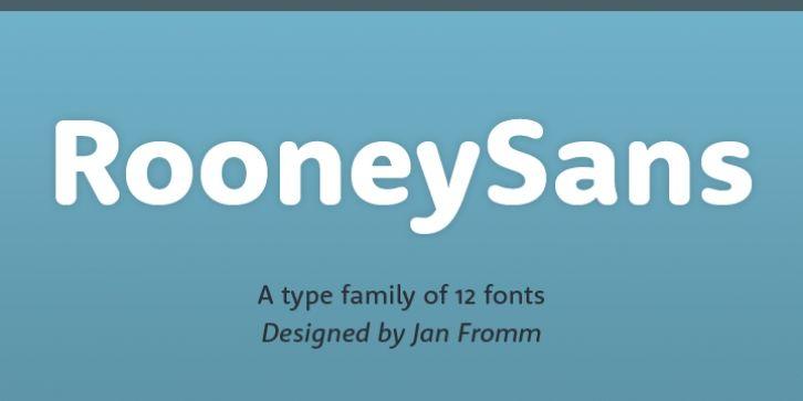 Rooney Sans™ font download | Fonts in 2019 | Fonts, Sans