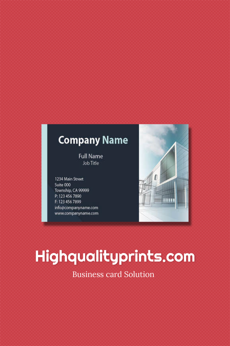 Business card is just a simple card, It\'s your little resume. More ...