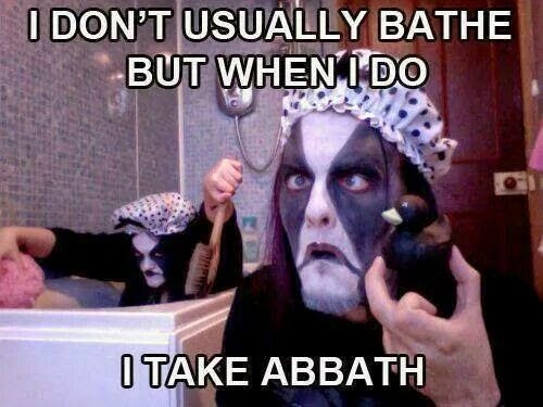 Abbath Funny