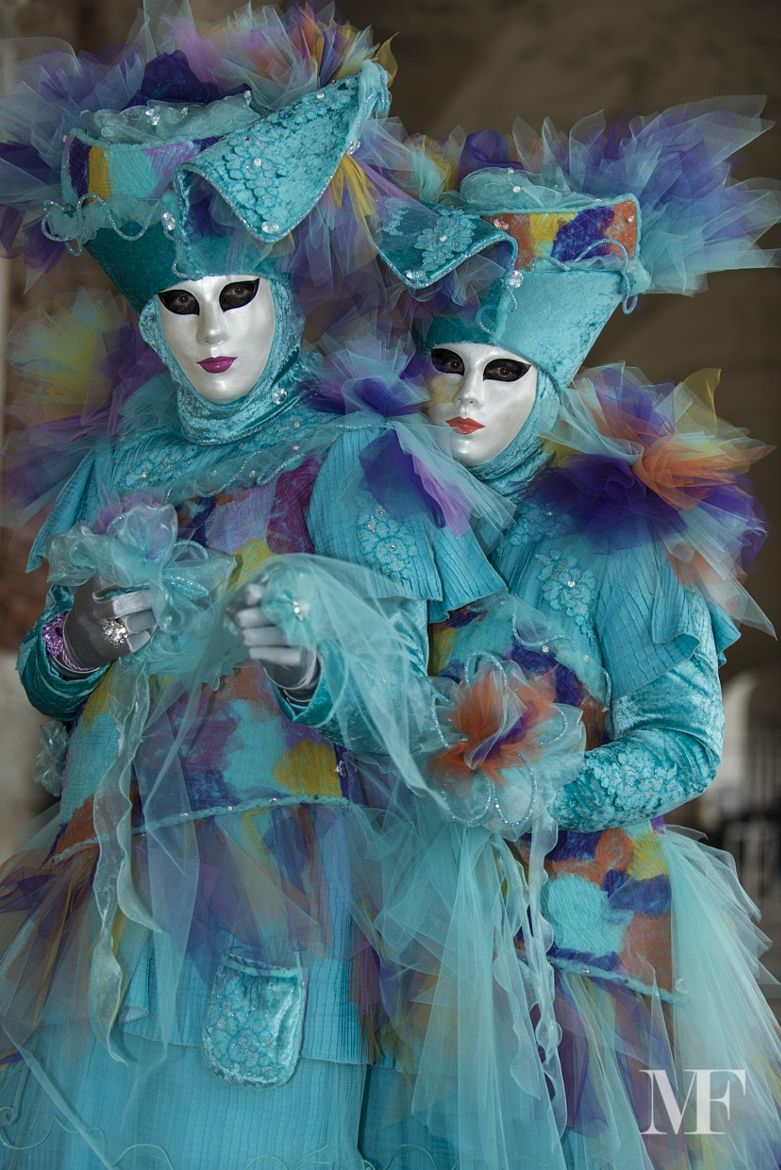 Lots of tulle and pretty colors from Venice Carnival 2015  by moreno faina on 500px