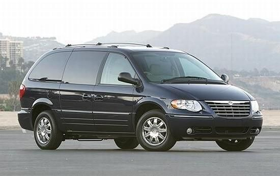 2005 Chrysler Town And Country Minivan The New Bealmobile Or