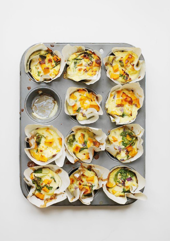 Sweet potato fritatta muffins - Fete Press