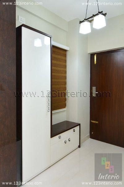 Design By Shwetha Foyer Shoe Rack Seating Light Shoe Storage