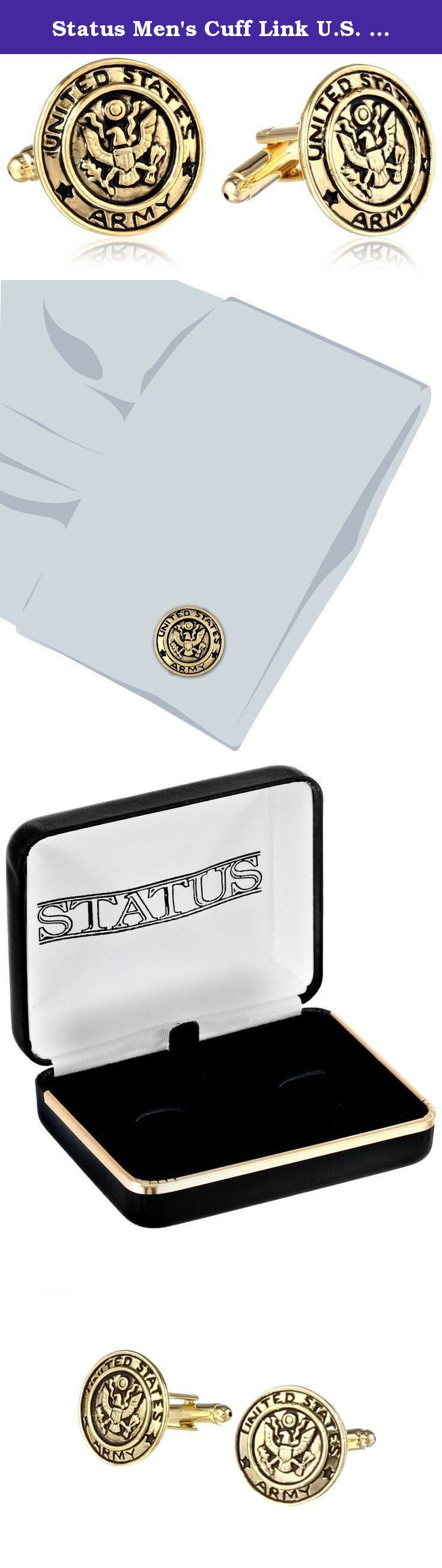 Army Status Mens Cuff Link U.S