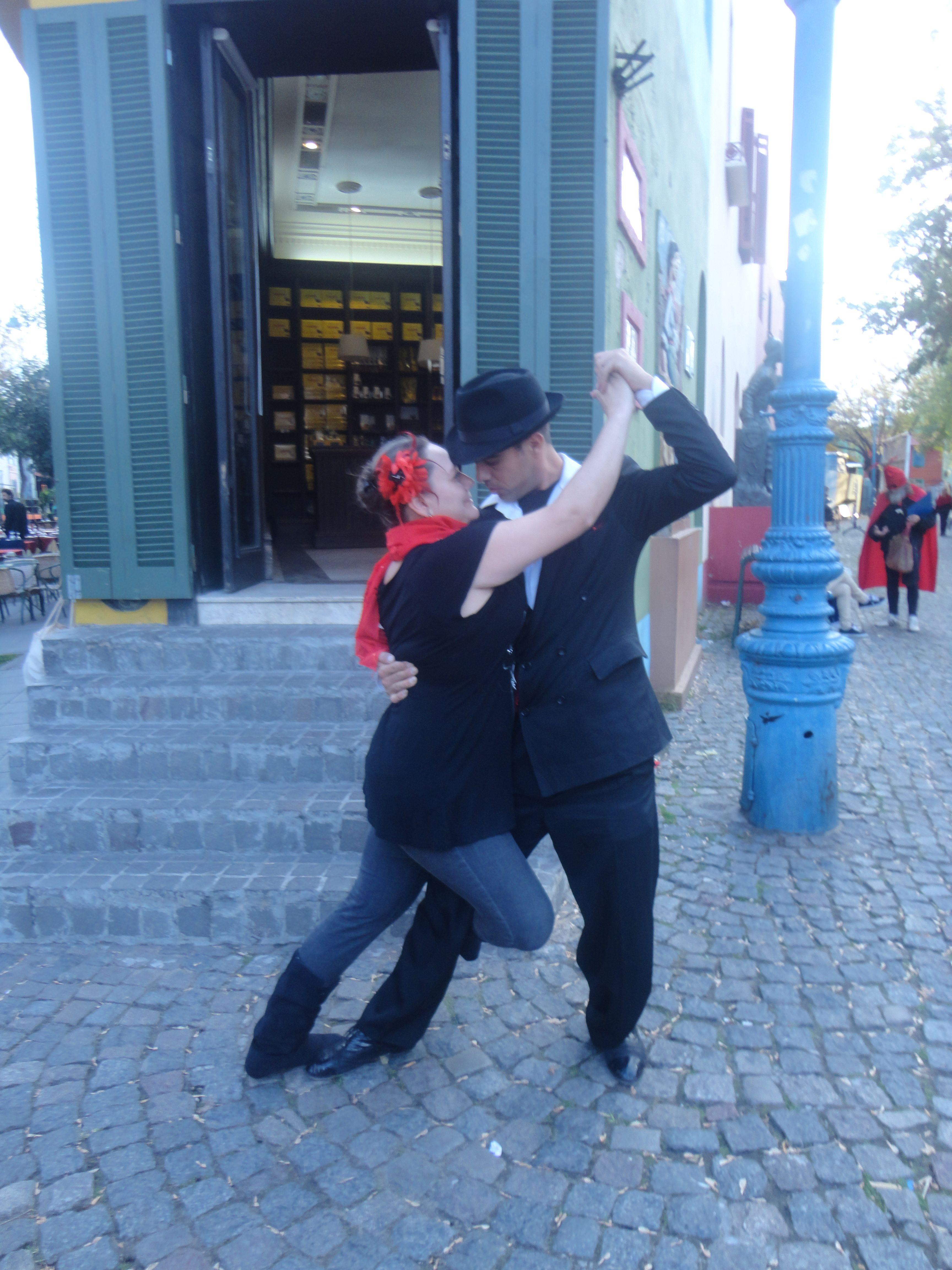 Mi gusta bailar un tango!!!