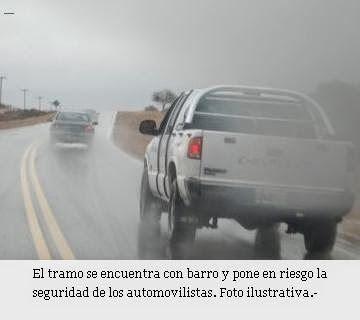 Piedra del Aguila.-: Aconsejan no transitar por la ruta 22 entre Senill...