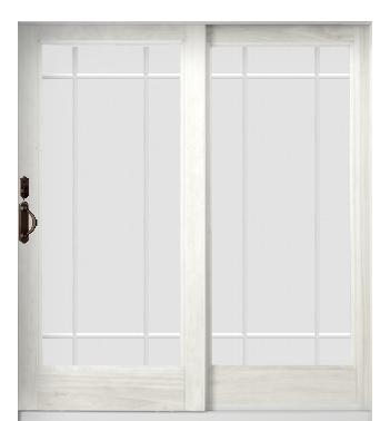 Anderson Sliding Glass Door French Patio Door Prairie Style