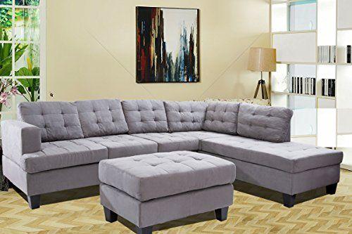 Merax 3 Piece Sectional Sofa With Chaise And Ottoman, Sue...  Https://smile.amazon.com/dp/B072Q1M5VG/refu003dcm_sw_r_pi_dp_x_VqJ ZbVN2EHA2