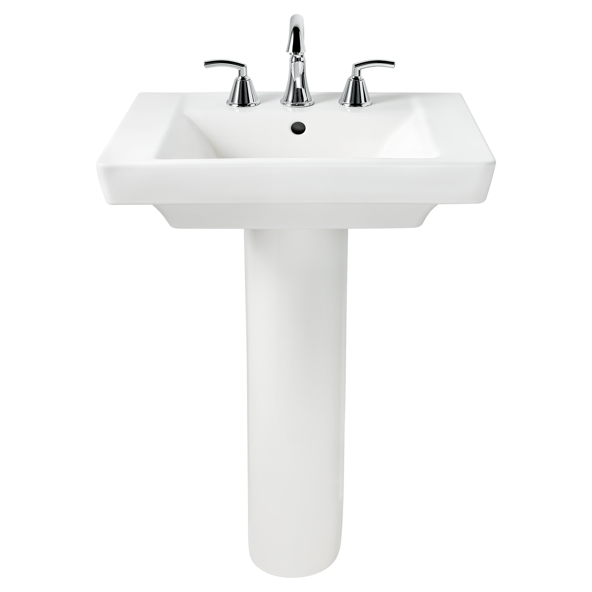 The Boulevard 24 Pedestal Sink Is Designed To Accommodate Single