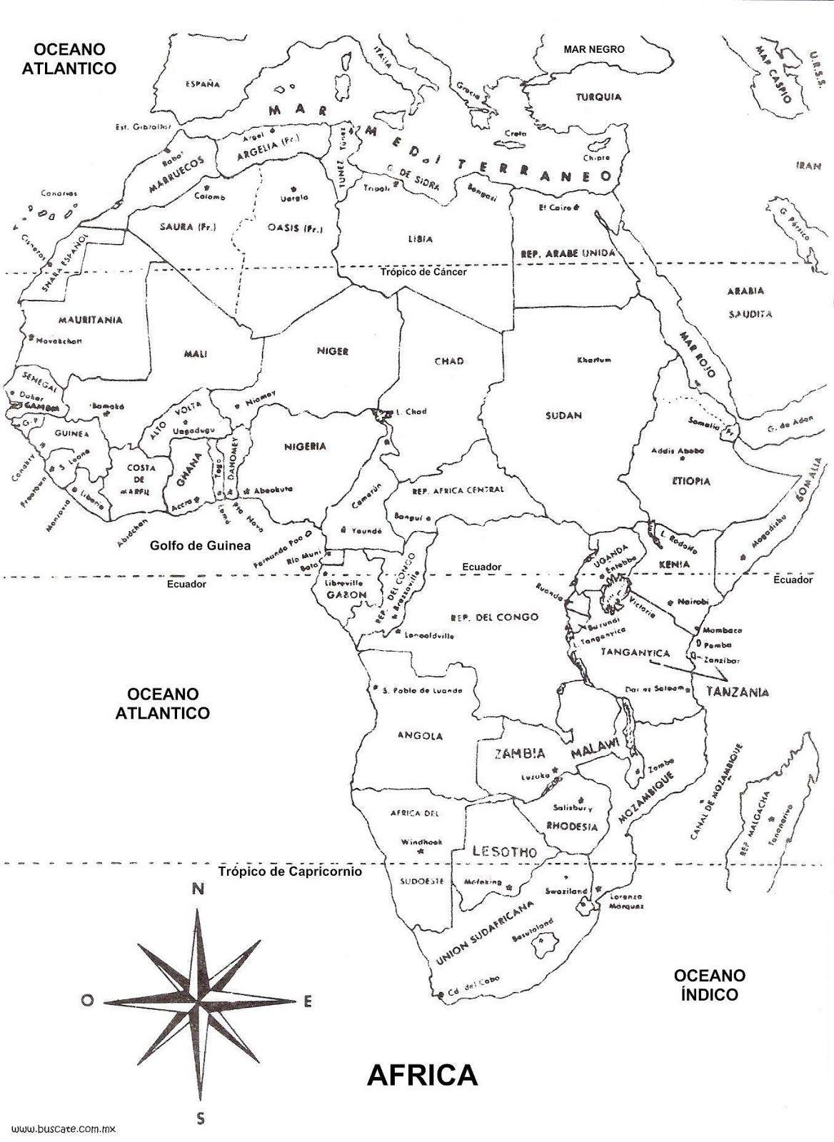 Colegio Oxford - Secundaria: Mapas geográficos | tarjeta | Pinterest ...