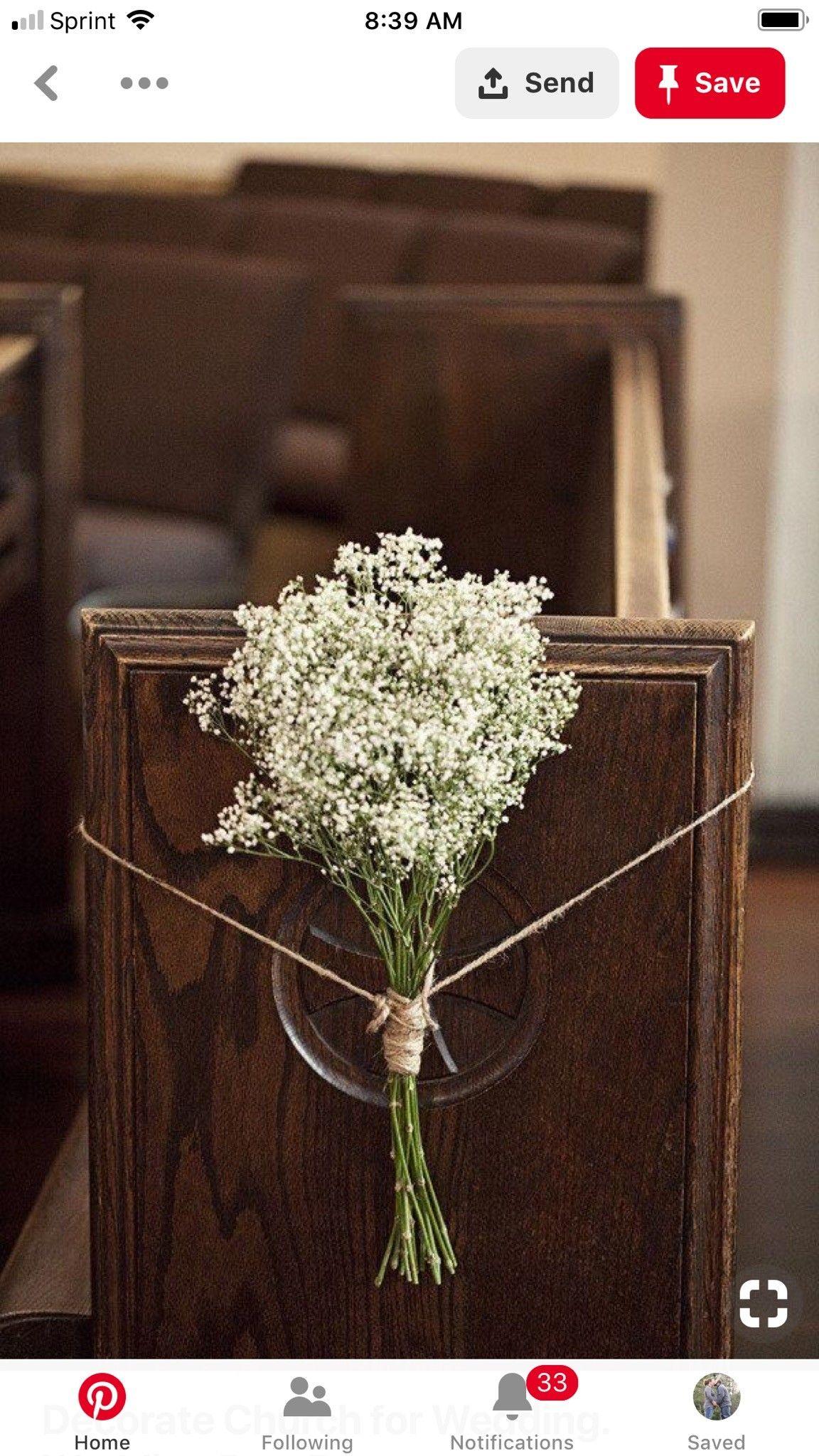 Pin By Lisa Hibbard On Our Wedding Rustic Church Wedding