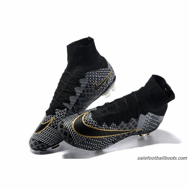 2015 Nike Mercurial Superfly IV BHM Black White Gold  107.99  b1da9eec97