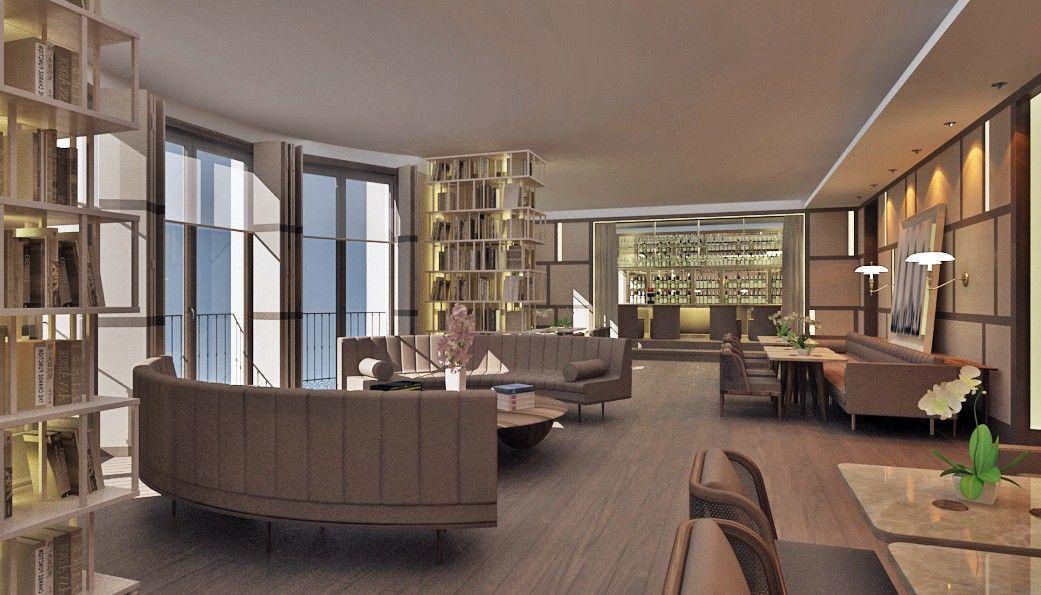The House Suits Nişantaşı Interior Design Project 3D visualization. & The House Suits Nişantaşı Interior Design Project 3D visualization ...