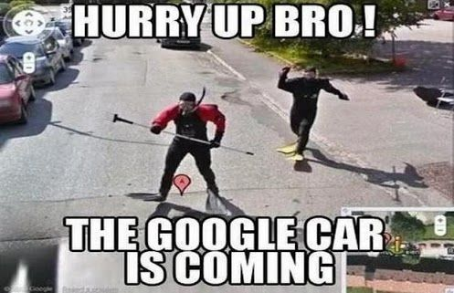 Google Car Is Coming Carmemes Funny Car Memes Funny Pictures Funny Photos
