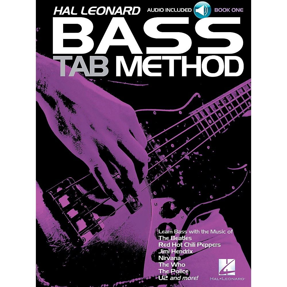 Bass Tab Method Book 1 Book/CD | Products | Left handed bass