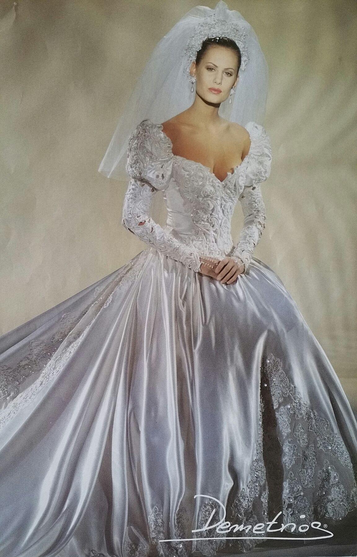 Demetrios 1994 Antique Wedding Dresses Beautiful Wedding Gowns Wedding Dresses 80s